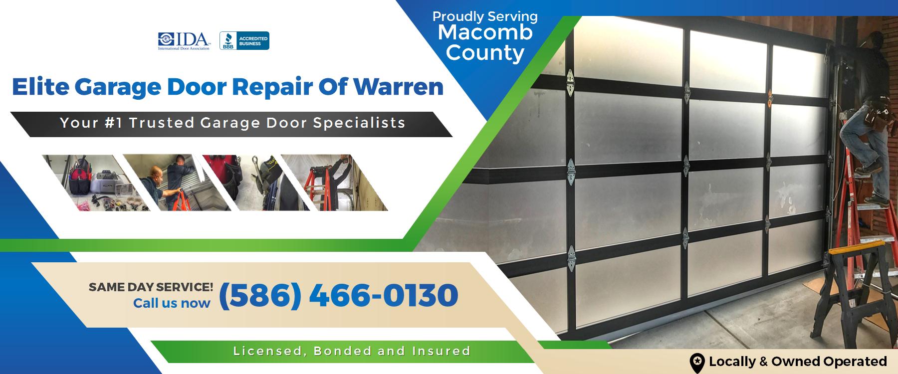 Elite Garage Door Repair Of Warren MI