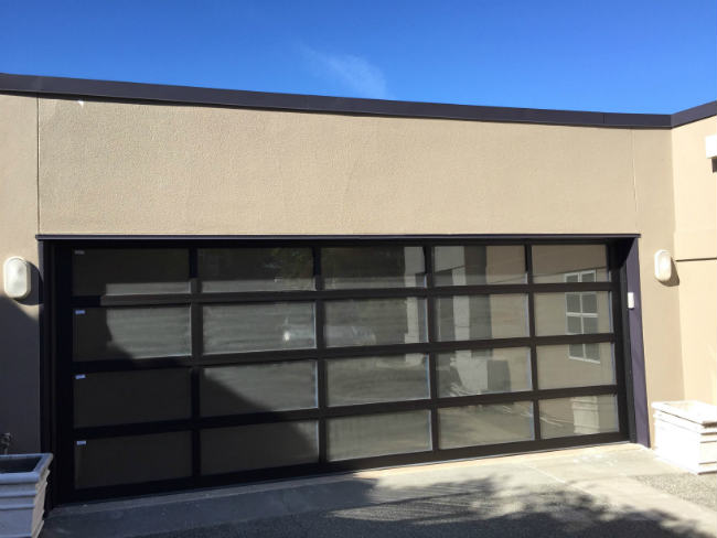 Frost Look Garage Door In Shelby Charter Township MI By Elite Elite Garage Door